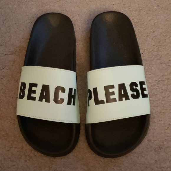 3afae261bc959 VS Pink Beach Please Slides Flip Flop Sandals